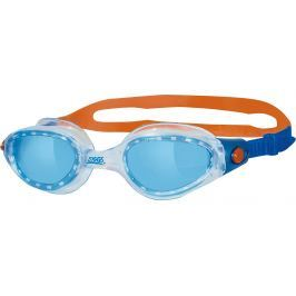 Schwimmbrille Phantom Elite, blau/orange Jungen Kinder
