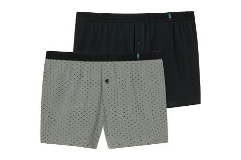 Schiesser Single-Jersey Boxershorts im 2er-Pack Slips & Shorts